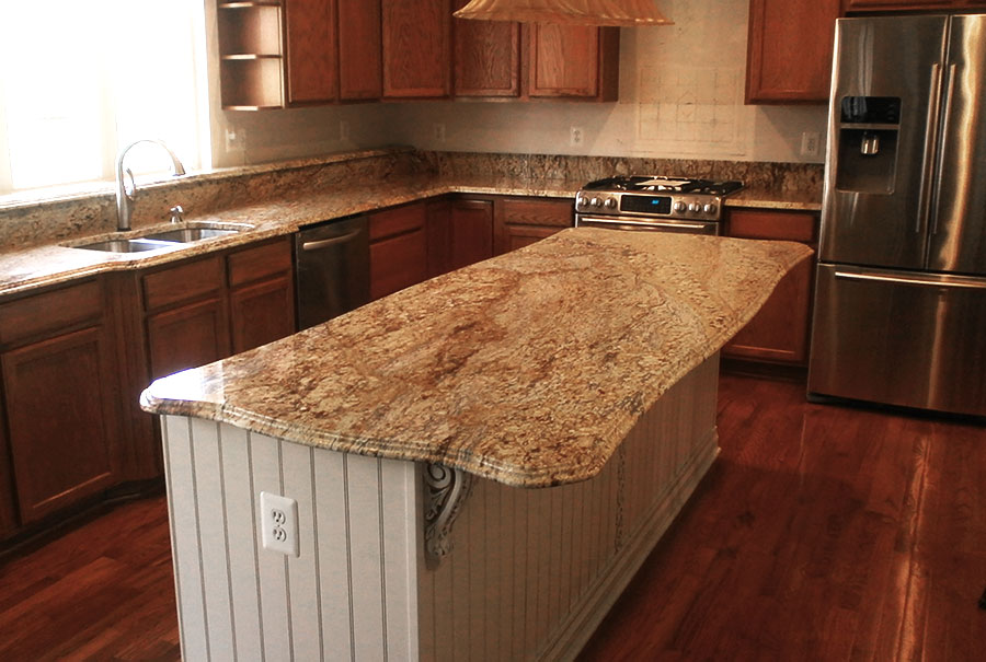 Granite counter top upgraded (1)