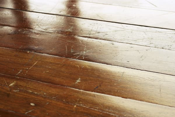 hardwood floor damage